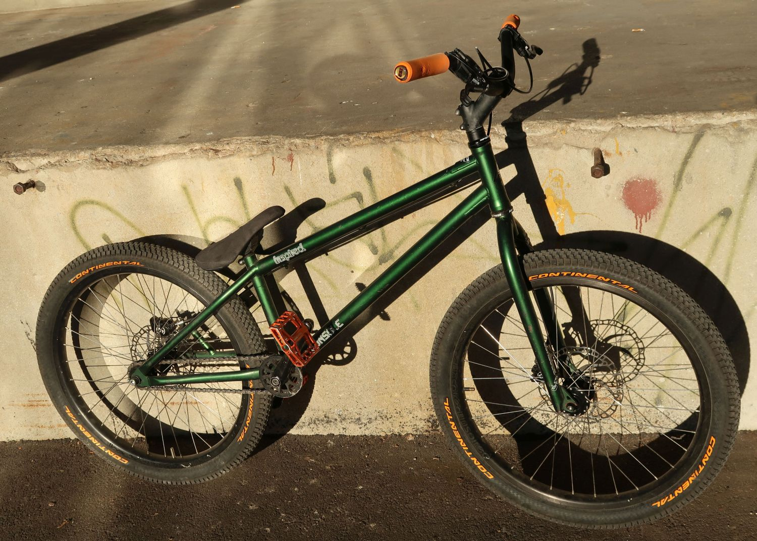 Inspired Console street trials bike
